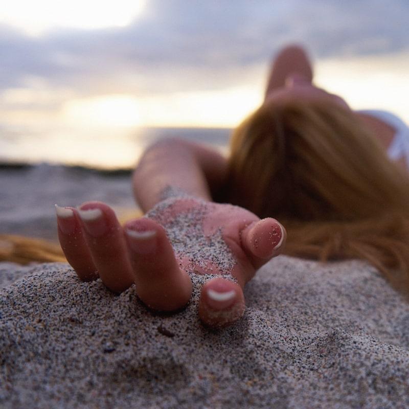砂には注意!