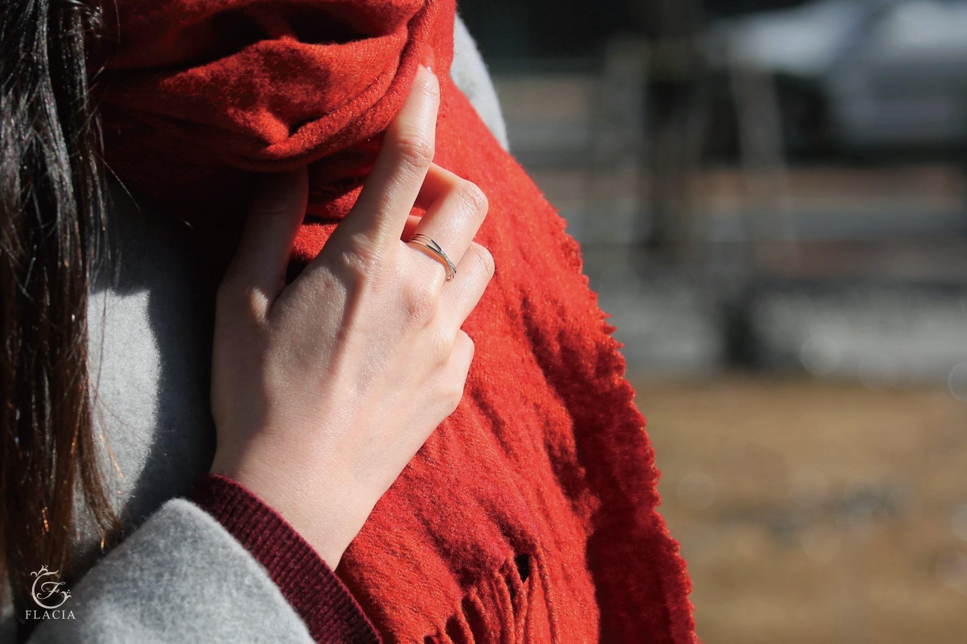 冬服とジュエリー_FLACIA